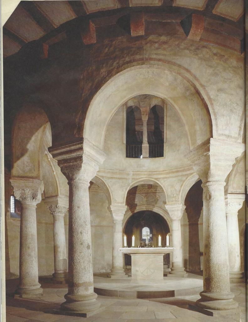 Fulda, chiesa carolingia di S. Michele (820-822)sull'esempio architettonico del S. Sepolcro