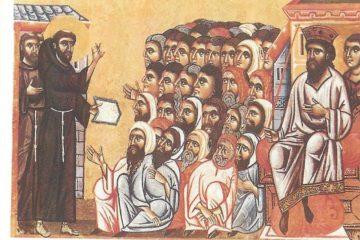 San Francesco e il sultano Malek-al-Kamil